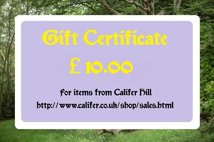 �10 Gift certificate
