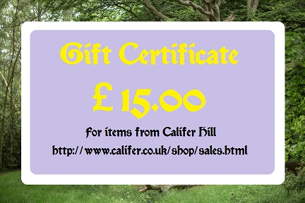 �15 Gift certificate