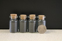 Small Black Salt Bottle